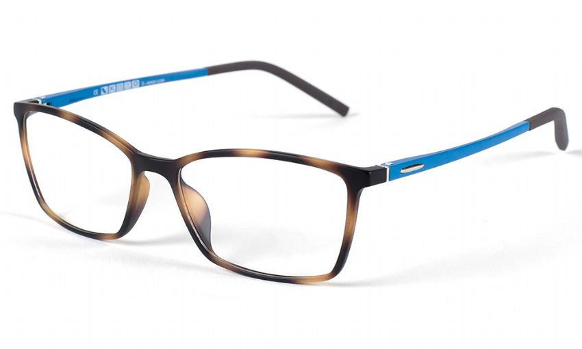 Eyecroxx Prescription Glasses 389 Tort/blue 5468