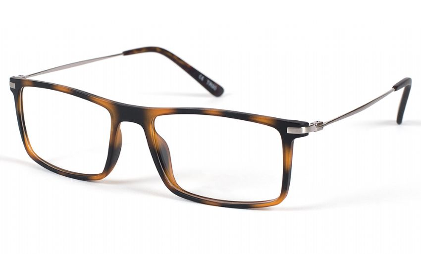 Eyecroxx Prescription Glasses 414 Matt Tortoise 5549