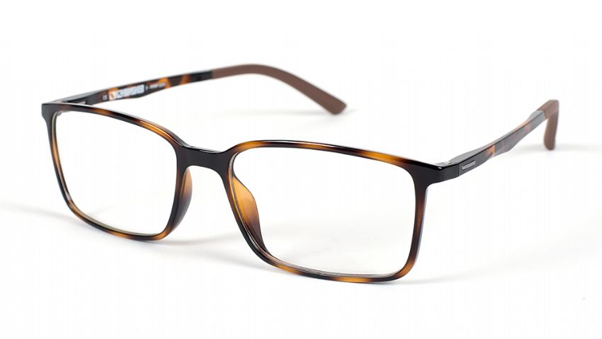 Eyecroxx Prescription Glasses 444 Tortoise 5544