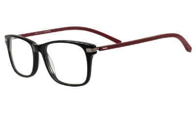 Dunlop Prescription Glasses 150 Black/red 5303