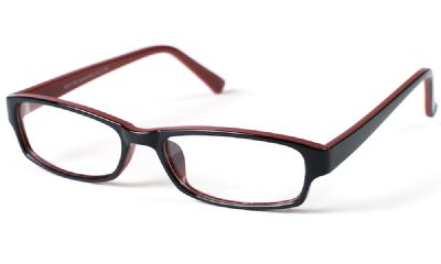 Sf Prescription Glasses Westdale Black/red 5387